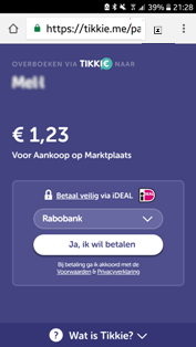 Tikkie iDeal kies je bank