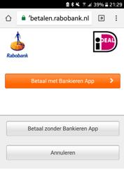 Tikkie kies betaal met-zonder App